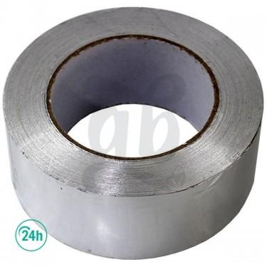 Cinta adhesiva aluminio reforzado