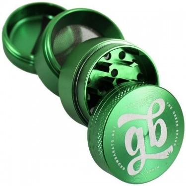 Grinder aluminio growbarato 4 partes - Verde