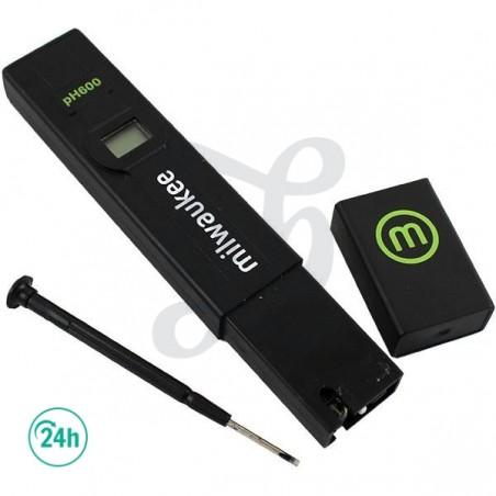 Medidor Ph 600 Milwaukee Eco
