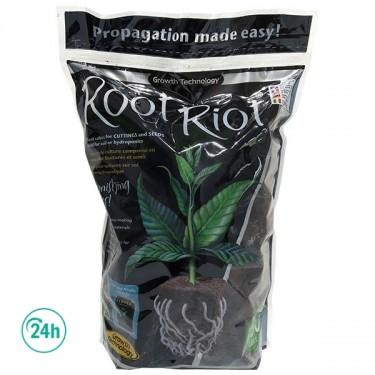 Saco de Root Riot Clonex por delante