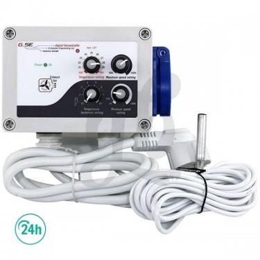 Régulateur de température GSE Vitesse Max/Min et hystérésis