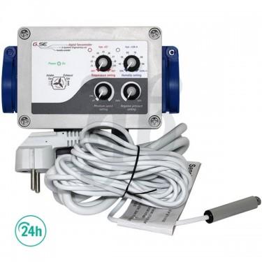 GSE controlador de humedad, temperatura y baja presión