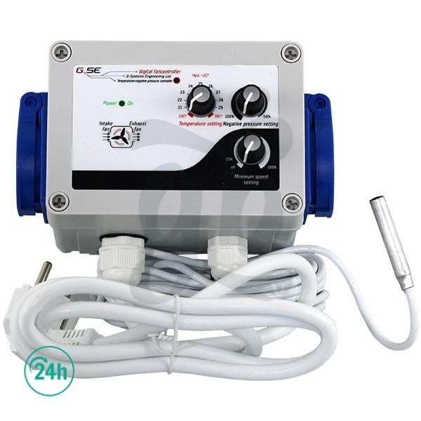 GSE controlador de temperatura y baja presión