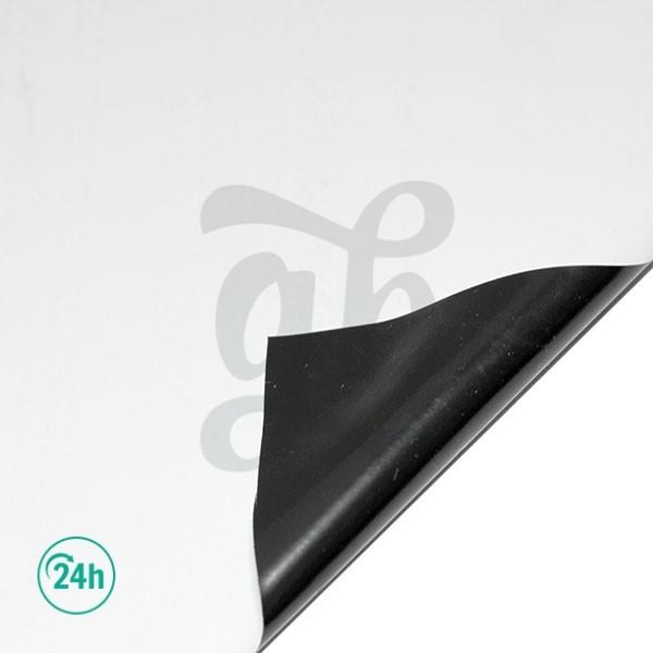 Plástico reflectante B/N grueso