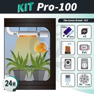 Kit de culture intérieure complet Pro 100