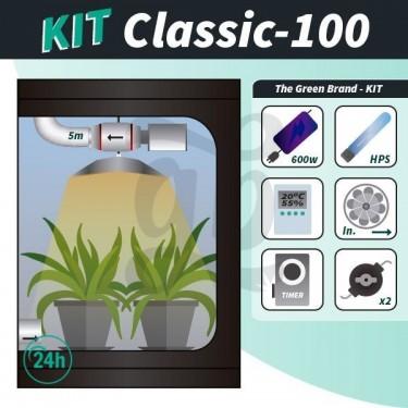 Kit de culture intérieure complet Classic 100