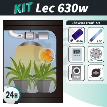 Complete growing kit LEC 630w
