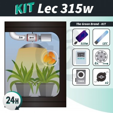 Complete growing kit LEC 315w