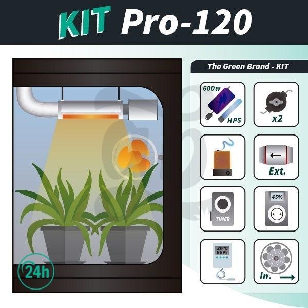 Kit de cultivo interior completo Pro 120