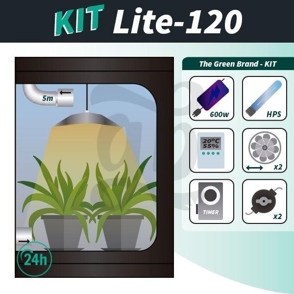 Kit de cultivo interior completo Lite 120