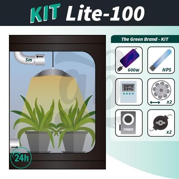 Kit de cultivo interior completo Lite 100