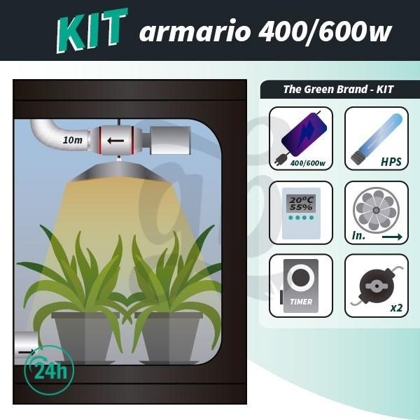 Complete Grow Tent Set 400/600w