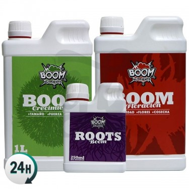 Boom Nutrients Basic Pack