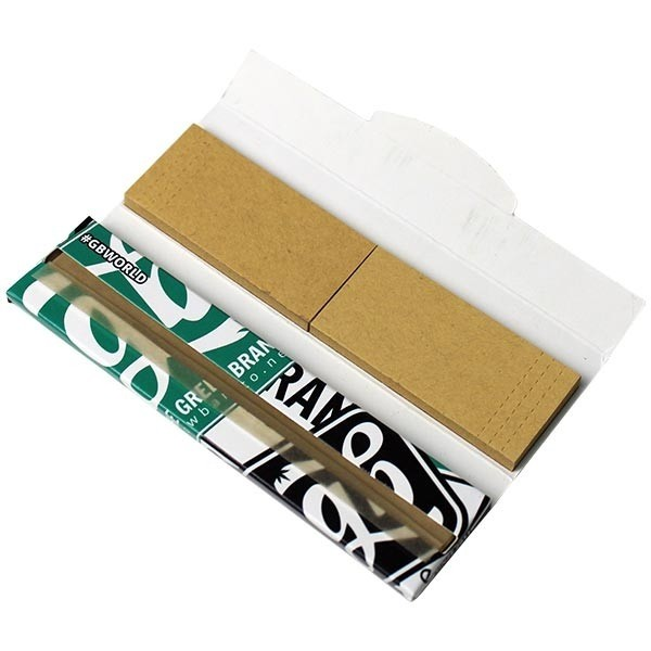 GB Stickers King Size Slim Rolling Papers + Filter tips