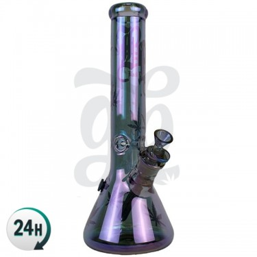 Bang en Verre Purple Magic 36 cm