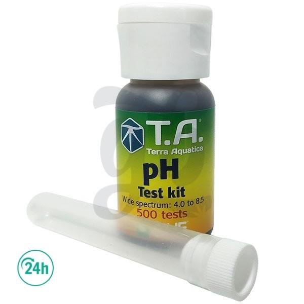 Test pH con gotas Terra Aquatica