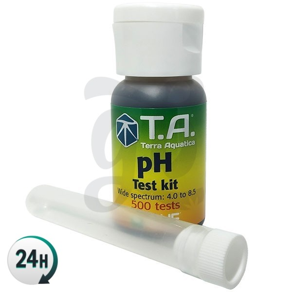 Kit test pH à gouttes Terra Aquatica