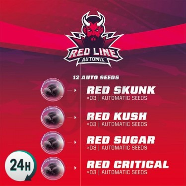 Red Line Automix Cannabis Strains