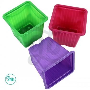 90 Pots de couleurs 7 x 7 x...