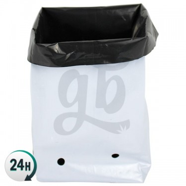 White Grow Bags in several sizes