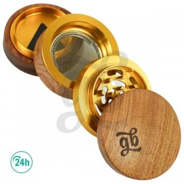 GB 4-Parts 60 mm Wooden Grinder open