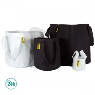Fabric V-Pot black