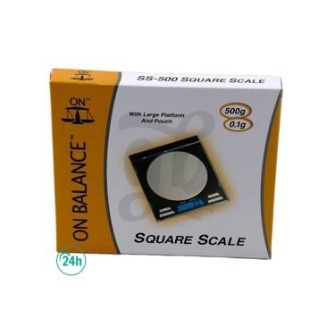 CD On Balance Scale Box
