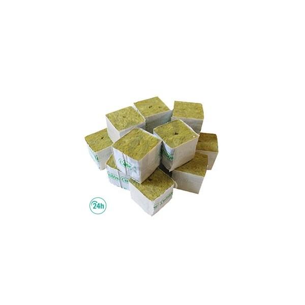 Bloc de Laine de Roche 5 x 5 x 5 cm