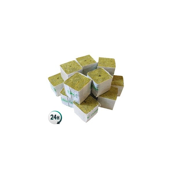 Taco de lana de roca de 5 x 5 x 5 cm for Lana de roca ignifuga