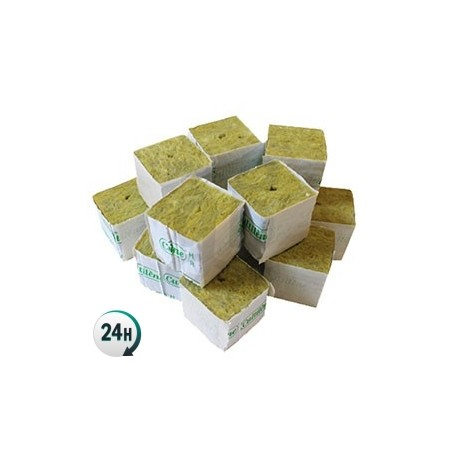 Rockwool cubes for cuttings 5x5x5 cm.