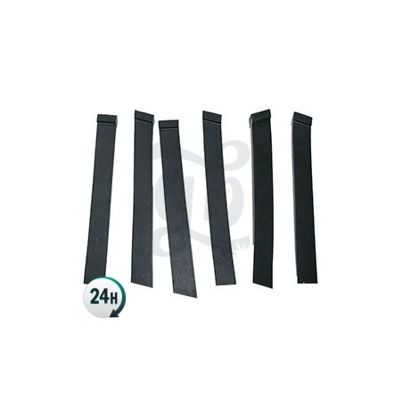 Replacement rubber strips for the Leaf Cutter