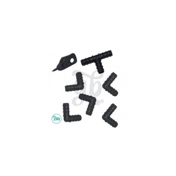 Set de Pièces pour Tuyau de 16 mm