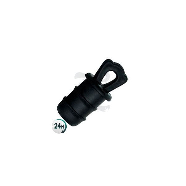 End-plug for 16mm pipe