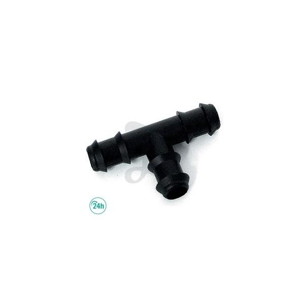 Unión en T de 16 mm