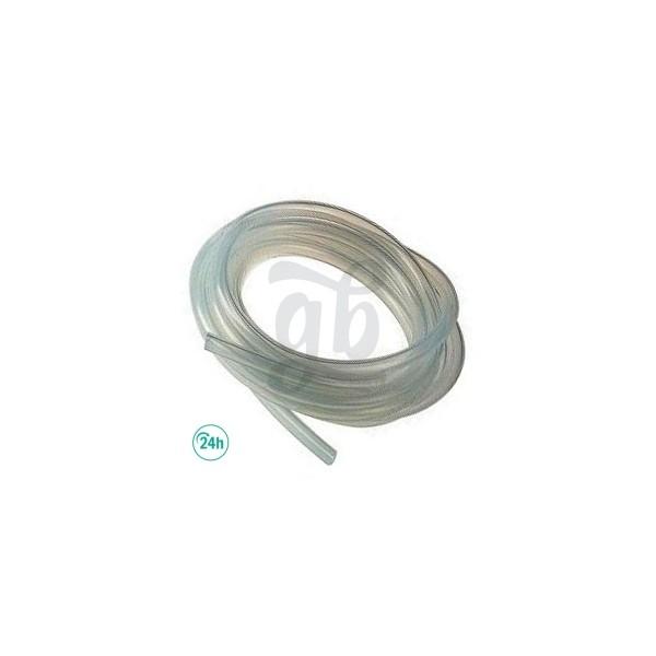 Tubo atoxico de silicona