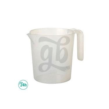 Jarra de plástico 1 litro