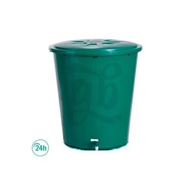 Green Round Water Tank