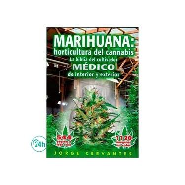 """Libro """"La Biblia de la marihuana"""" Jorge Cervantes"""