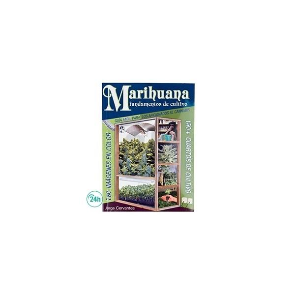 """Libro """"Marihuana fundamentos de cultivo"""" de Jorge Cervantes"""