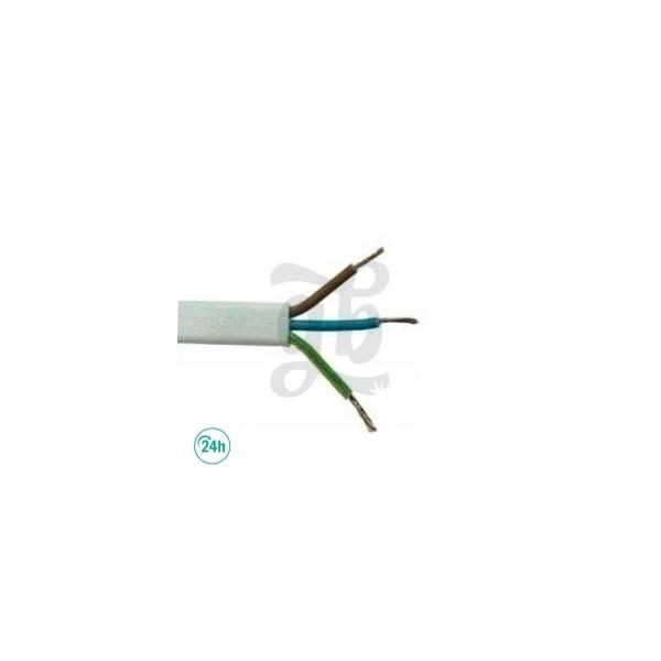 Tube de Câble 3x1,5 mm au mètre