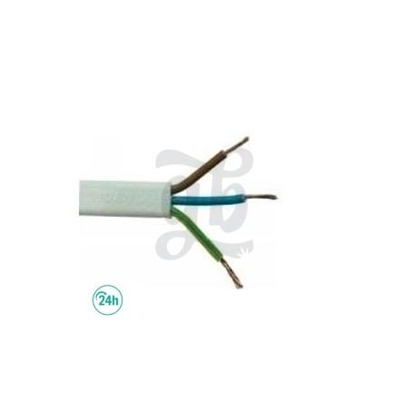 Manguera de cable 3 x 1.5 mm cable a metros