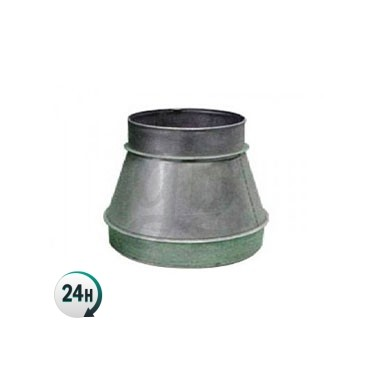Acople reducción de metal para ventilación del cultivo
