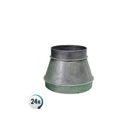 Acople reducción de metal ventilación cultivo