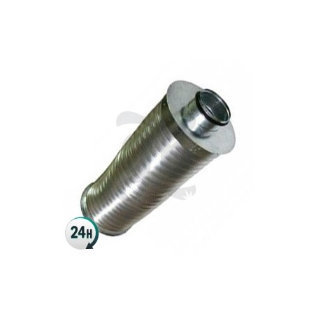 Air Silencer for Extraction Tubes