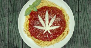 cooking weed sauce