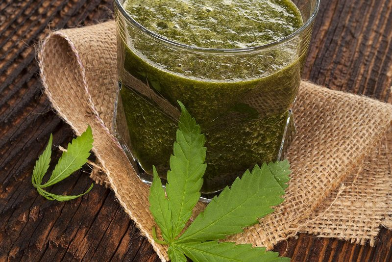 juice from male cannabis plants