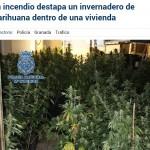 Extintores automáticos para cultivos de marihuana