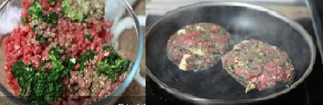 preparacion hamburguesas