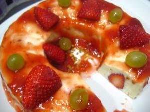 fresa y yogur
