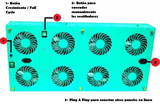 phytoled-profesional-gx-partes-funcionamiento